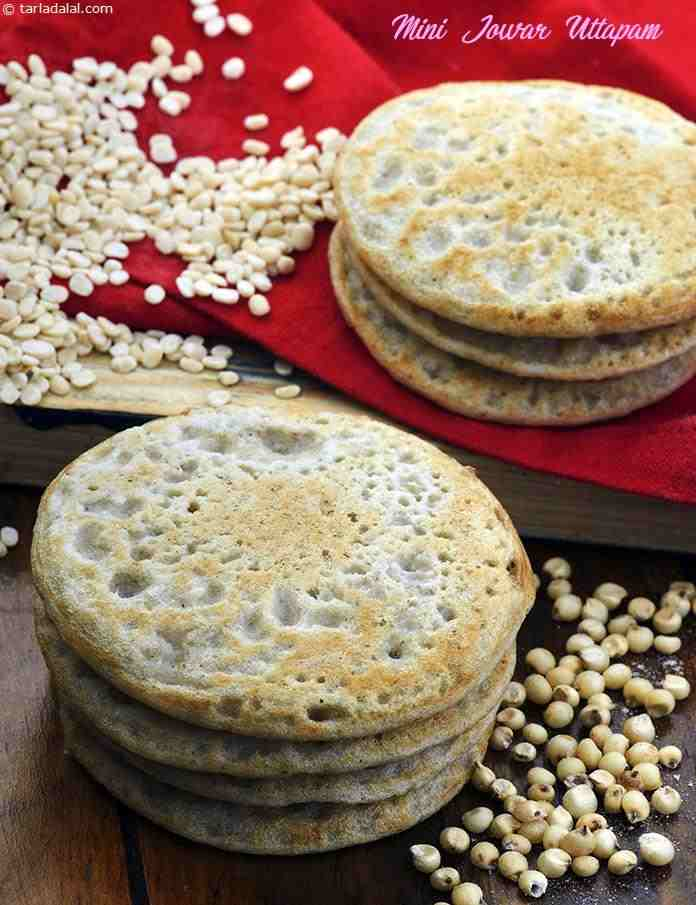 Nutritional value facts calories of mini jowar uttapam iron rich click here to view the recipe forumfinder Image collections