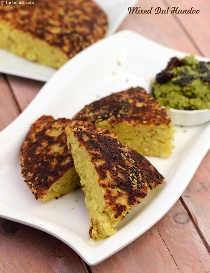 Mixed dal handvo gujarati recipe recipe gujrati handvo recipes mixed dal handvo is a traditional gujarati savoury cake which is a nutritious meal in forumfinder