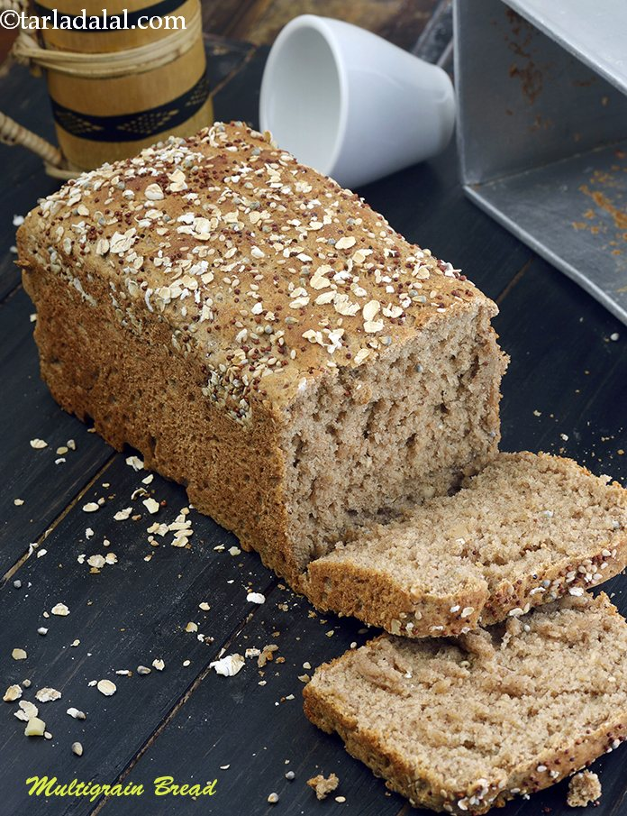 Multigrain Bread, Homemade Multigrain Bread