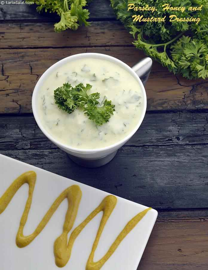 Parsley, Honey and Mustard Dressing