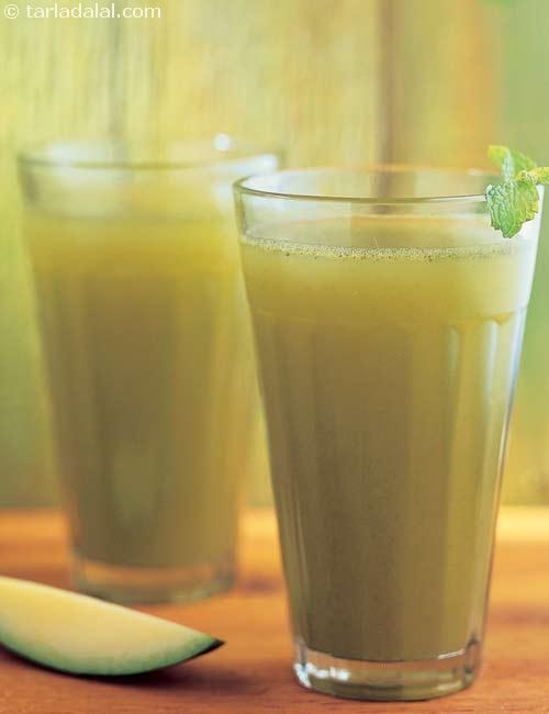 Pineapple and Wheat Grass Juice ( Eat Well Stay Well Recipes )