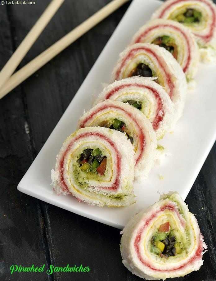 Pinwheel Sandwich Recipe Pin Wheel Sandwich