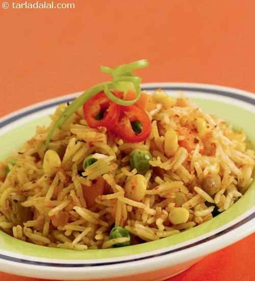 Quick Tava Rice ( Growing Kids Recipe)