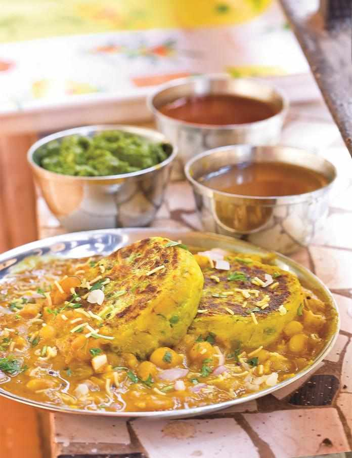 Nutritional value facts calories of ragda patties gujarati click here to view the recipe forumfinder Image collections