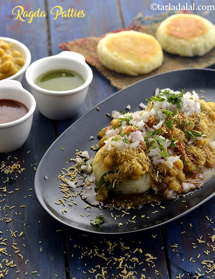 Ragda Patties, Chaat Ragda Pattice Recipe