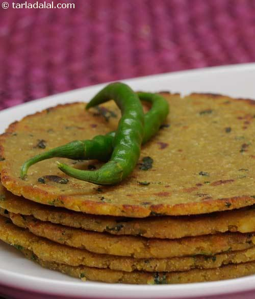 Rice and Soya Parathas