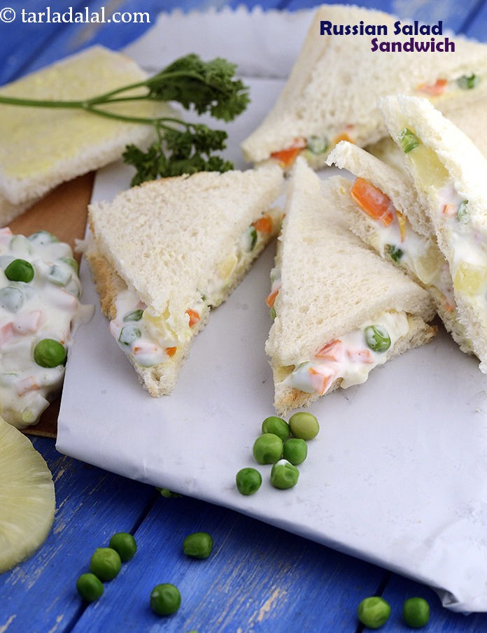 Russian Salad Sandwich