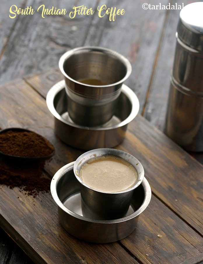 South Indian Filter Coffee, Filter Coffee Recipe