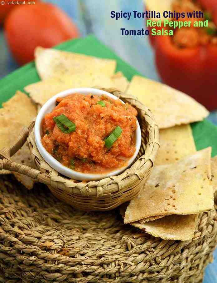 The Spicy Tortilla Chips are made with a fibre-rich combination of maize and wheat flour flavoured with chilli flakes, while the Red Pepper and Tomato Salsa is made more nutritious by adding red capsicum, rich in vitamin A and antioxidants.