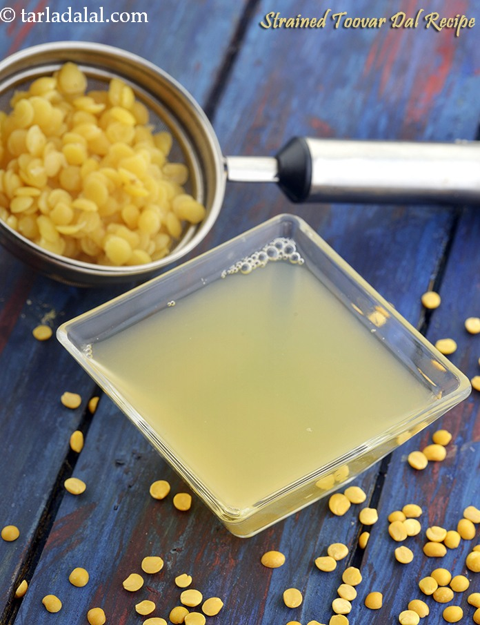Strained Toovar Dal Recipe, Clear Fluid Recipe