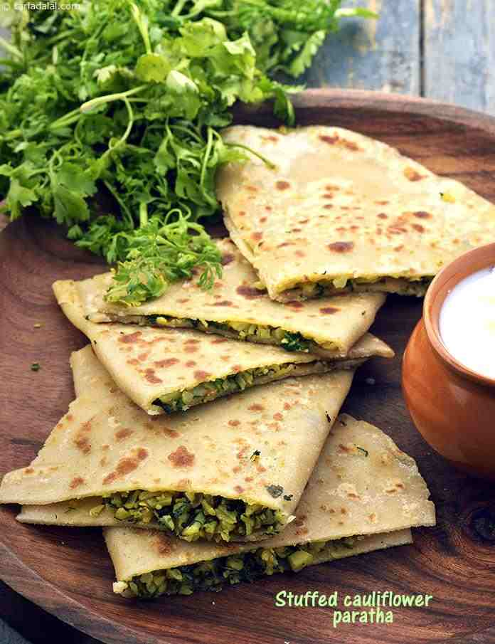 Stuffed Cauliflower Paratha