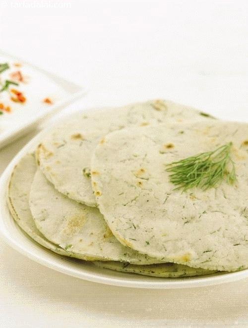 Suva Chawal Roti ( Weight Loss After Pregnancy ) recipe ...