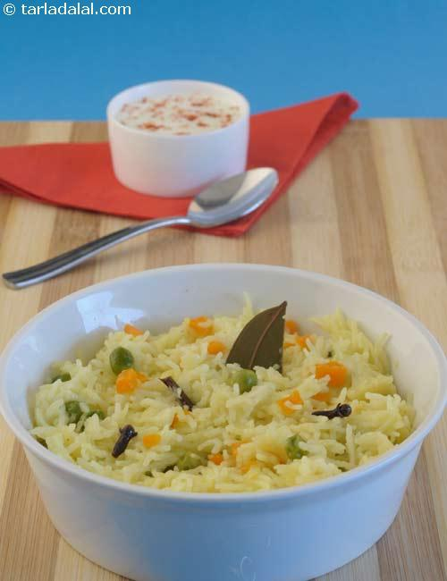 Tasty Mixed Vegetable Pulao