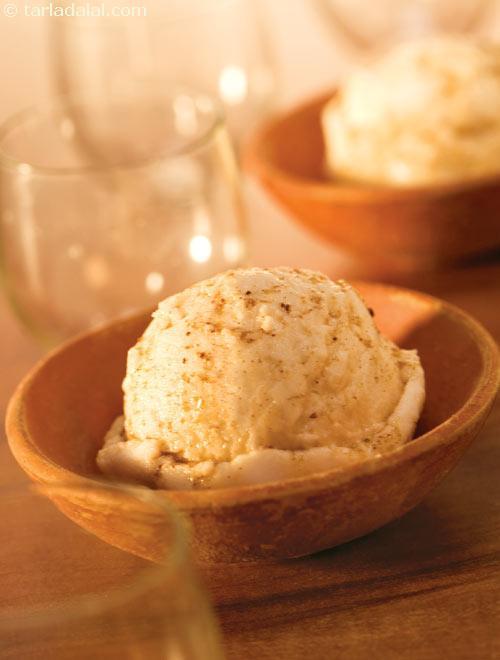 Thandai Ice Cream, Healthy Diabetic Recipe