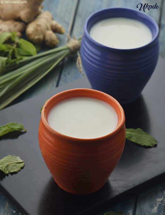 Ukado, Gujarati Lemon Grass and Ginger Milk