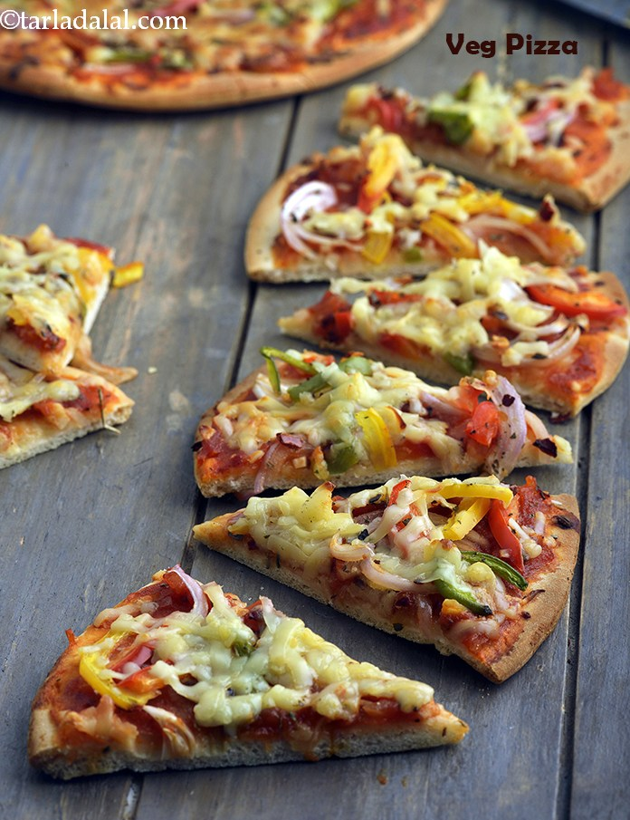 Veg Pizza, Vegetable Pizza, Basic Vegetable Pizza