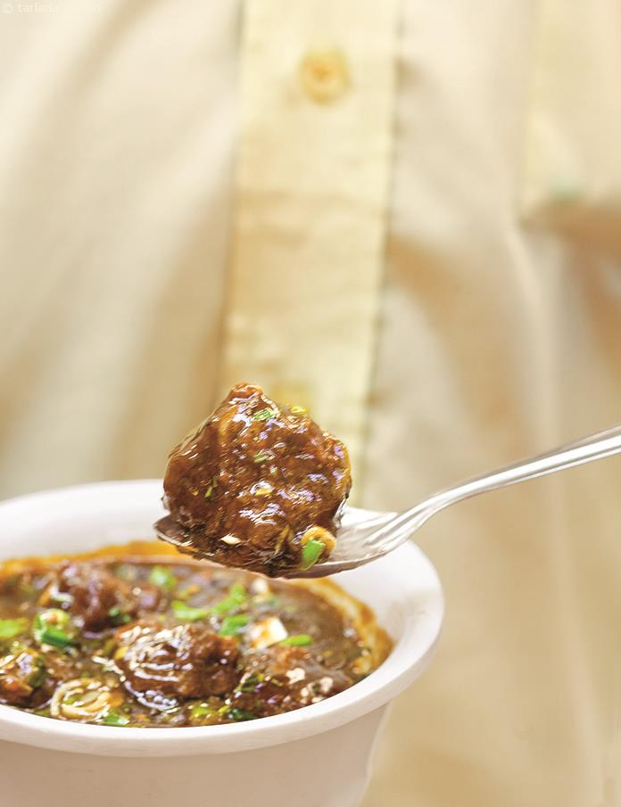 Vegetable Manchurian ( Chinese Recipe)