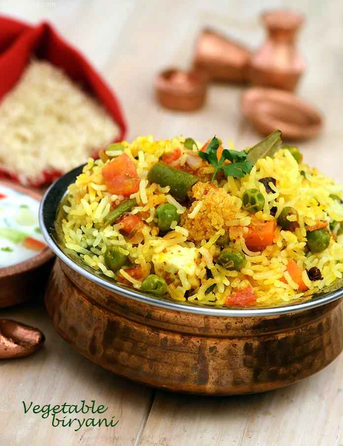 Vegetable biryani desi khana recipe veg biryani by tarla vegetable biryani desi khana forumfinder
