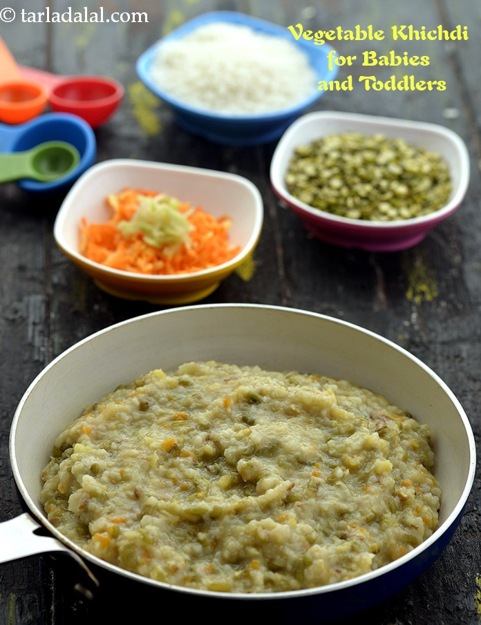 Vegetable Khichdi ( Baby and Toddler)
