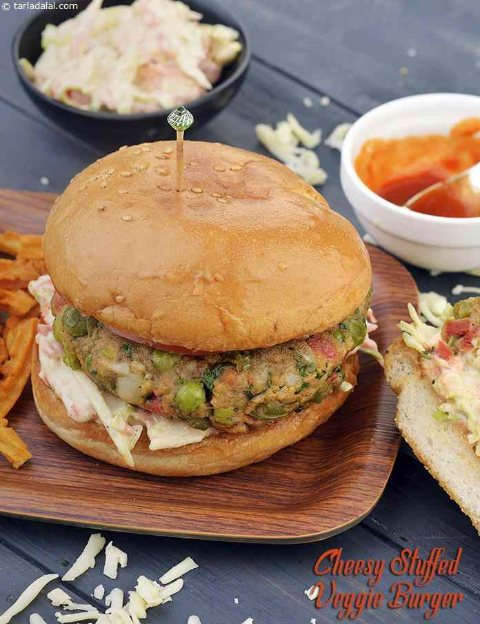 Vegetable Tava Burger
