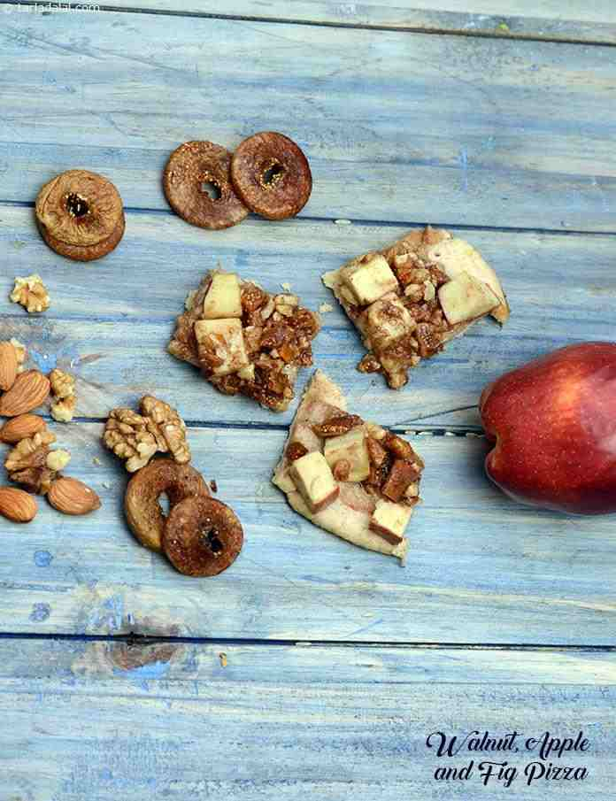Walnut, Apple and Fig Pizza