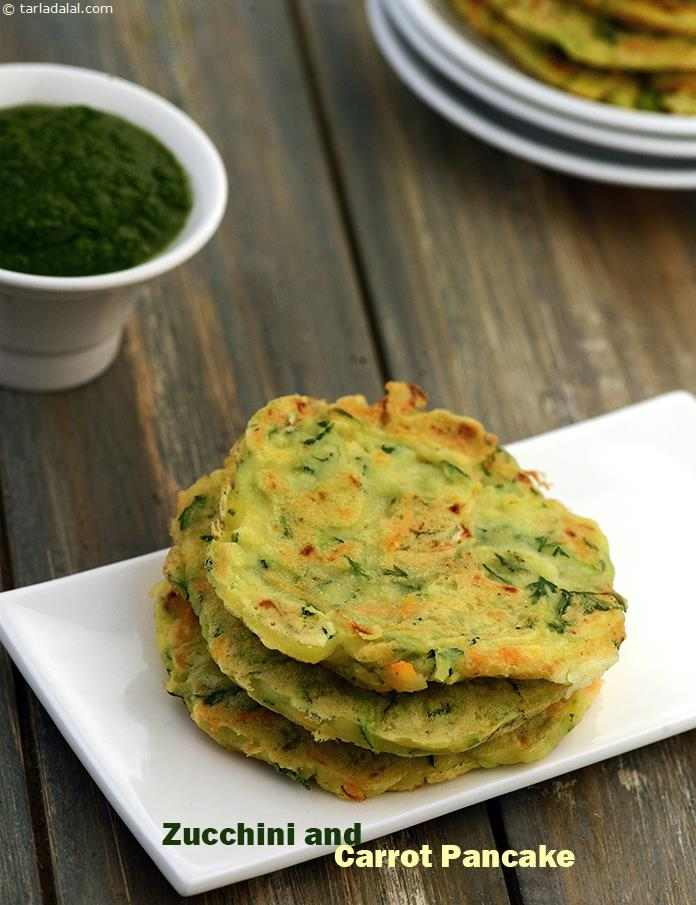 Zucchini and Carrot Pancake