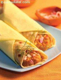 Aloo Frankie (  Wraps and Rolls)