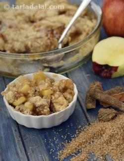 Apple Crumble ( Microwave Recipes)