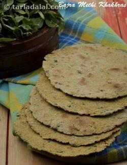 Bajra Methi Khakhras ( Nutritious Recipe For Pregnancy)
