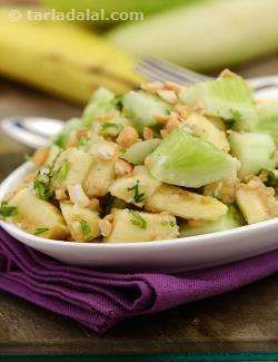 Banana and Cucumber Salad