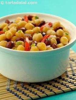 Bean and Capsicum Salad ( Healthy Soups and Salads Recipe)
