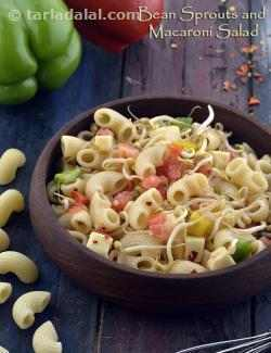 Bean Sprout and Macaroni Salad