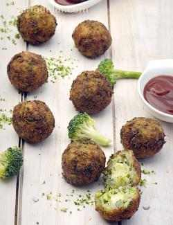 Broccoli and Cheese Balls
