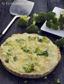Cauliflower and Broccoli Pie