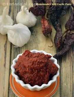 Homemade Chilli Garlic Paste