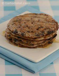Chocolate and Apple Pancakes ( Jain Recipe)
