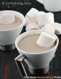 Chocolate Marshmallow Drink