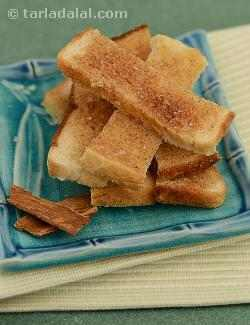 Cinnamon Crisps ( Microwave Recipe)