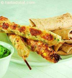 Corn Seekh Kebab