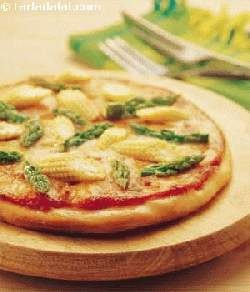 Creamy Corn Pizza