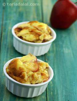 Crunchy Apple Custard