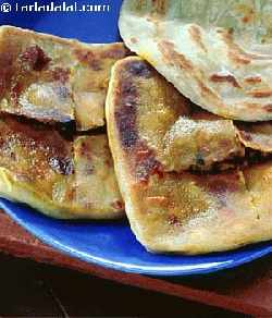 Curried Paratha