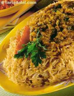 Dhansak Rice Recipe, Veg Dhansak