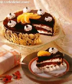 Ebony and Ivory ( Eggless Desserts Recipe)
