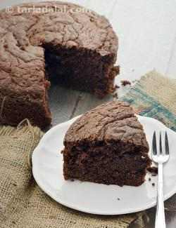Eggless Chocolate  Cake Using Curds ( Cakes and Pastries )