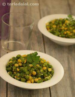 French Beans Foogath ( Jain Recipe)