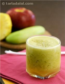 Pineapple, Apple and Cucumber Juice