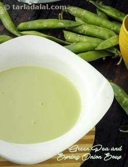 Green Pea and Spring Onion Soup