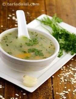 Garlic Vegetable Soup (  Healthy Heart)