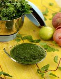 Green Chutney (Chaat)